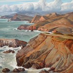Cronkhite Coast, c. 1962 30 x 40 inches  I  Oil on Panel Private Collection
